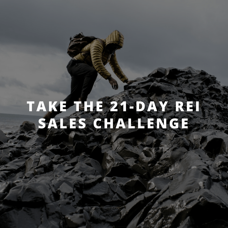 Click To Take the 21-Day REI Sales Challenge
